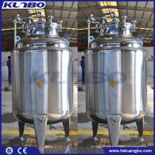KUNBO Acier Inoxydable 304 316 Double Veste Brite Bright Beer Tank