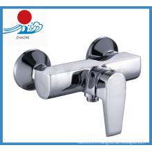 Robinet de mélangeur de robinet de lavabo en cuivre à eau chaude et froide (ZR21104)