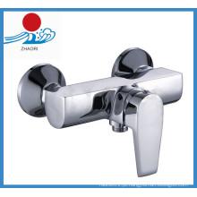 Bacia de misturador de torneira de lavatório de torneira de latão de água quente e fria (ZR21104)