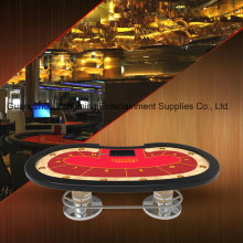 Mesa de casino oval de Poker Pies de Texas Poker (YM-TB021)