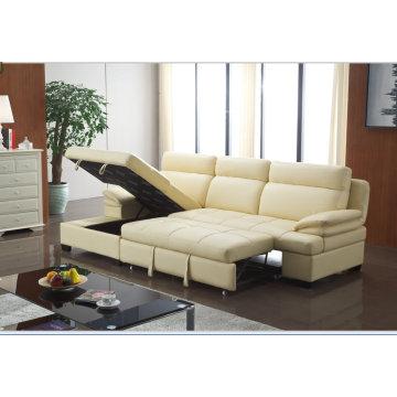 China Recliner Sofa, Living Room Modern L Shape Sofa, Bed Folding Function Sofa (967)