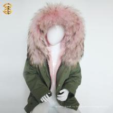 Фабричная прямая поставка Зимнее пальто Fox и детское куртка ребенка