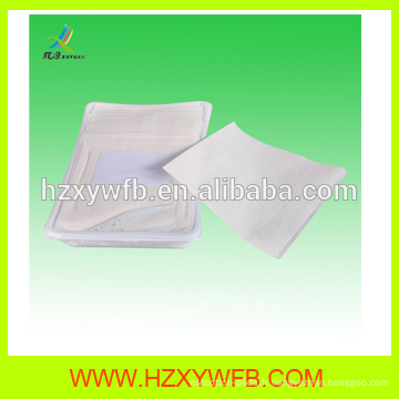 Serviette chaude jetable non-tissée de serviette d'air de Spunlace