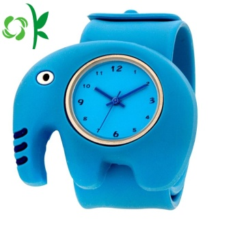 Cartoon dierlijke vorm Silicone Watch Bands klap armband