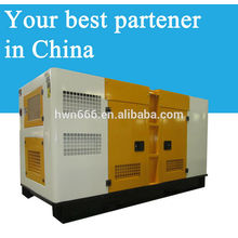 50kw Shangchai power genset power by SC4H95D2 engine model