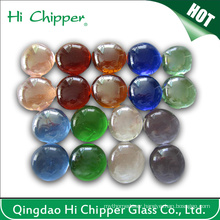 Colored Glass Gemstone Fire Pit