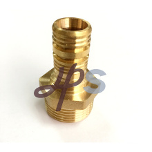 Hot forging brass male coupling for PEX plastic pipe
