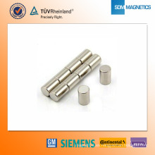 Imán de neodimio N42 D8 * 12 mm