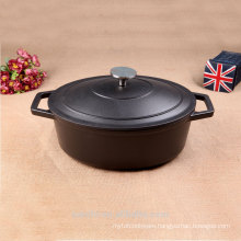 Brand new Eco-friendly Casserole Castiron Non Enamel Pot