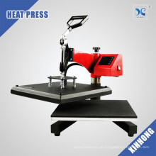 XINHONG HP3805B Rotary T-Shirt Druckmaschine Wärmeübertragung Presse mit CE