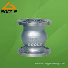 Клапан api6d Фланец вертикальный Клапан (GAH42H)