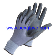 13 Gauge Nylon/Spandex Liner, Ppu (Pure water based polyurethane) Coating Glove