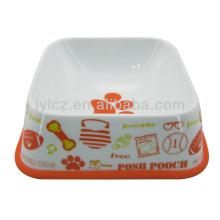 fancy dog bowl