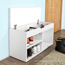 Multifunctional individual wood shoe cabinet