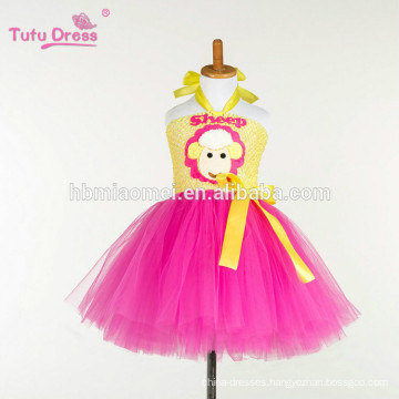 Little sheep Baby Girls Tutu Dress Child Kids Party Birthday Tulle Dresses For Girls Costume Cosplay Cartoon Princess Dress