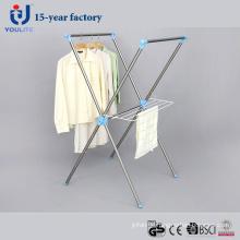 Edelstahl X-Type Kleidung trocknen Bügel