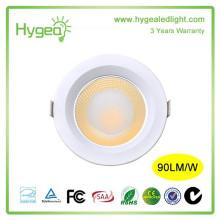 2015 Nouveautés Meilleur qualité 3W / 5W Downlight à économie d'énergie Super brillant Downlight à LED Anti-brouillard Downlight