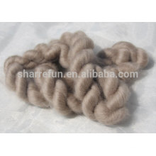 100% Mongolian fine cashmere tops brown