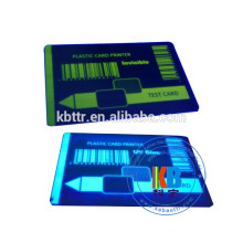 Impressora de cartões de identificação compatível com fita p330i blue uv ribbon