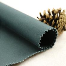 21x20 + 70D / 137x62 241gsm 157cm trevo de algodão verde preto stretch 3 / 1S tecido de vestuário de tecido de tecido impresso