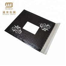 HDPE / LDPE / Poly + Air Bubble Material dauerhafte Mailer Umschlag Blase schwarz