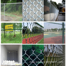 Construct chain link fence