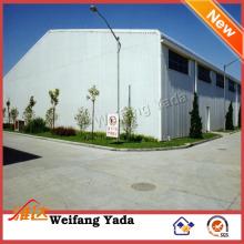 Insulated Light Industrial Steel Frame Sheds Building