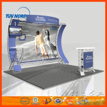 hire customized expo trade show booth in shanghai