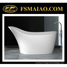 Unique Design Special Shape Solid Surface Freestanding Bathtub (BS-8605)