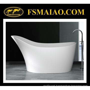 Unique Design Special Shape Solid Surface Freestanding Bathtub (BS-8605)