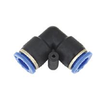Auto ar condicionado acessórios igual tamanho, União cotovelo montagem pneumática