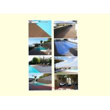 Decking impermeable al aire libre de WPC con SGS, Fsc, certificado del CE