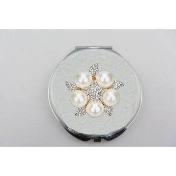 Pearl Five-star Round Mirror