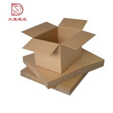 Cálculo de cajas corrugadas de precio al por mayor nuevo a granel al por mayor