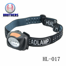 3AAA Plastic Outdoor Working LED Headlamp (HL-017)