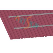 Suportes de telhado do painel solar