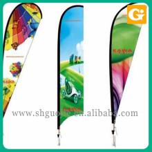 Высокое качество рекламы 3 метровый флаг полюс флаг впрыска воды для продажи