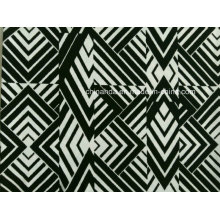 Simple Black & White Pattern Printing Fabric for Swimwear (HD1401108)