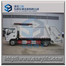 6 Cbm 4X2 Isuzu Wheel Base Basura Compacta camión de basura