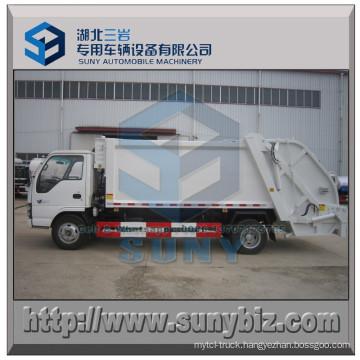 6 Cbm 4X2 Isuzu Wheel Base Garbage Compacted Refuse Truck
