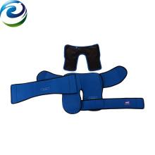 El terciopelo del PVC de nylon previene los paquetes calientes y fríos de la venta caliente de la inflamación para el uso del hospital