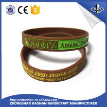 Promotional Gift Item Fashionable Silicon Wristband/Bracelet