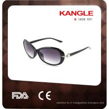 2017 nouvelles lunettes de soleil polarisées en plastique uv400