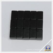 Мощный черный блок постоянные магниты