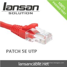 LANSAN meilleur prix utp cat5e 8P8C Patch cable Cable 4P 24AWG