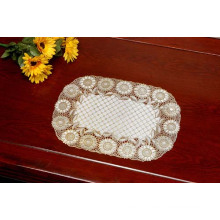 PVC Gold/Silver Lace Tablemat (JFCD-013)