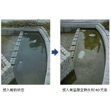 Aditivo para purificación de agua microbiana de algas marinas