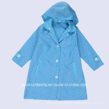 Adult Used New Design PU beschichtetes Polyester Regenmantel