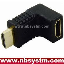 Adaptateur angle HDMI 90 degrés Un type mâle à femelle