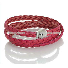 wholesale western charm style jewelry making supplies& leather necklaces for women made in china